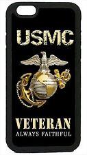 USMC Marines Veteran Marine Corps iPhone 4 4s 5 5s 5c 6 6 Plus Case Logo