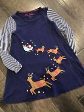 MINI BODEN Christmas Pants Dress Size 11 12 yr