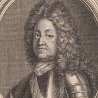 Portrait XVIIIe Louis-Joseph de Vendôme Bourbon Brihuega Villaviciosa Calcinato.
