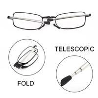 Foldable Stainless Steel Presbyopic Glasses Eyewear Style Reading Glasses BG