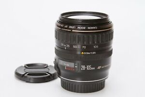 Canon EF 28-105mm f/3.5-4.5 USM Lens, Black, Tested, Sharp Clean, Very Nice Lens