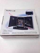 iCraig Stereo Speaker System For iPod iPhone MP3 player audio docks mini speaker