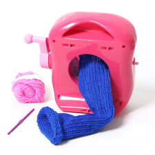 Mini Knitting Machine Scarf Hat Sock Hands-on Weaving Loom Knitter Kid Toys