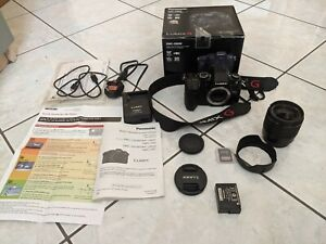 Panasonic Lumix G80M 16MP Fotocamera Digitale Mirrorless (con 12-60mm & 32GB SD)