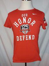 Nike OSU Buckeye Womens XL Slim Fit T Shirt