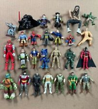 VINTAGE Lot of 26 Different Action Figures Batman TMNT Power Rangers Star Wars