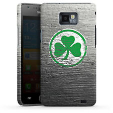 Samsung Galaxy S2 Plus Premium Case Cover - Metal Scratch SpVgg