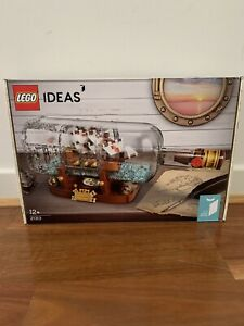 Lego Ideas 21313 Ship In A Bottle Brand New