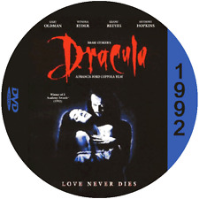 "Bram Stoker's Dracula (1992) Classic Horror and Sci-Fi CULT ""B-Movie"" DVD"