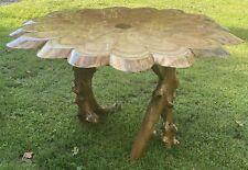 "Custom Made Dining Room Table. 54"" across X 30"" high."