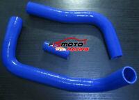 BLUE silicone radiator hose FOR Toyota Land cruiser HJ75 2H 1984-1990 85 86 87