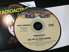 CD Single  Gene Simmons - Radioactive/ See You In Your Dreams w/ FACE MASK  NM