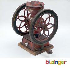 Antique 1898 Enterprise No.2 Double Wheel Cast Iron Coffee Mill Grinder