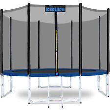 KIDUKU® Trampolin 427 cm Gartentrampolin Kindertrampolin Outdoor Komplettset Set