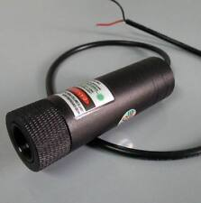 focusable 1000mw 1W green laser module 5V dot beam+ line beam / low temperature