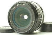 【EXC+5】 Nikon NIKKOR Ai 28mm f/3.5 Wide Angle MF Lens w/Filter from Japan #417