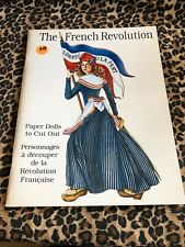 Paper Dolls Book Uncut The French Revolution 1993