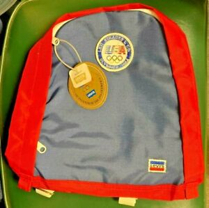 Levi Strauss Vintage Olympics 1984 Backpack New With Tags