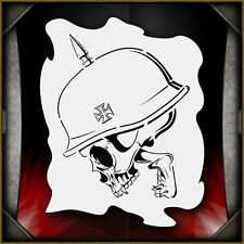 Skull 33 Airbrush Stencil Template Paint Airsick