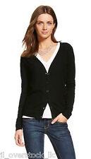 Merona Women's Favorite Knit Textured Cardigan Sweater - Ebony (Black) - NEW NWT