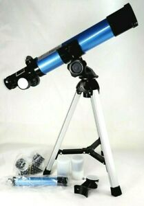 Refractor Telescope 400mm x 40mm Tripod Finder Scope, Portable For Adult & Kids