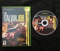 The Italian Job — Cleaned/Tested! Fast Free Shipping! (Microsoft Xbox, 2003)