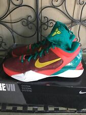 the best attitude 055e8 671a2 Nike Zoom KOBE VII 7 SUPREME X YOTD YEAR OF THE DRAGON RED ELECTROLIME TEAL  11