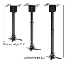 Projector Mount Universal Ceiling Bracket LCD DLP Tilt 360° Swivel Adjustable