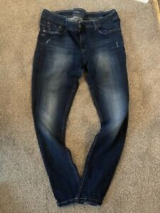 LADIES BLUE SKINNY JEANS UK SIZE 18 GREAT CONDITION