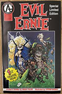EVIL ERNIE #1 Special Limited Edition 1992 Adventure Comics VG+ Pulido & Hughes
