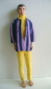"""1960's Mattel """"KEN"""" Groovy Beatnik doll TLC junk doll Barbie's Boyfriend"""