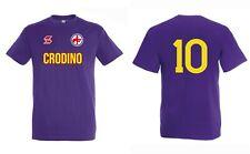 T-Shirt FIORENTINA Calcio Celebrativa ROBERTO BAGGIO anni 80 CURVA FIESOLE