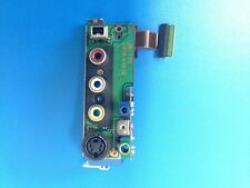 Sony DSR-PD150 PD150 Part JK190 Board Audio Video, Headphone  DV Firewire Port