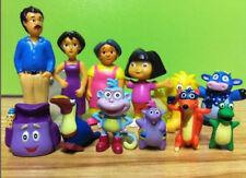 Dora the Explorer Toy Figures Playset Book PVC Figurines 12pc Set/M