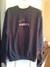 "Men's M & C Sport Sweatshirt ""Super Grandpa"" Size L"