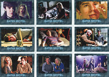 Bates Motel Making of Norman Bates Complete 9 Chase Card Set M1 to M9