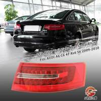 LED Tail Light Rear Lamp Red LEFT Fits AUDI A6 C6 4F Avant Rs6 2007-2008