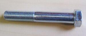 "3/8"" UNF x 2 1/2"" Hex Bolt Grade 5 Hi-Tensile zinc plate steel (Qty 4)"