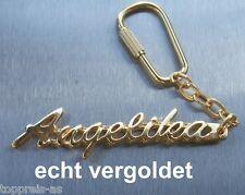 Uhren & Schmuck Edler SchlÜsselanhÄnger Christophe Vergoldet Gold Name Keychain Geschenk