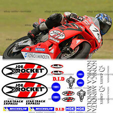 Australian superbike decal kit for cbr models fits 2009 2010 2011 2012 2013