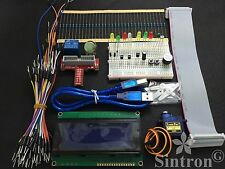 [Sintron] GPIO Extension Board Starter Kit + LCD 2004 Display for Raspberry Pi B