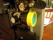 16mm film COLOR CORRECTION FILTER made to fit any 16MM PROJECTOR LENS even SCOPE