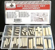 60pc GOLIATH INDUSTRIAL MACHINERY KEY ASSORTMENT MKA60 FLYWHEEL PULLEY CRANK WAY