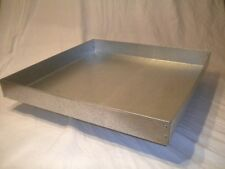New 19 x 19 x 1 1/2 Heavy Duty Metal Replacement Drip Tray for Grill / Bar-B-Que
