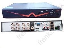 Registratore NVR IP DVR 8 canali 1080n ibrido CCTV analogico AHD Full HD P2P APP