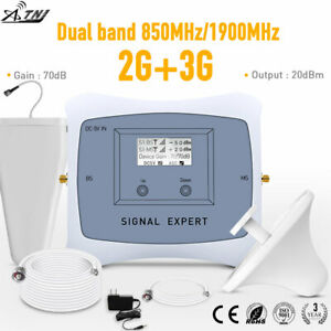 2G 3G US Dual Band 850/1900MHz Signal Booster 2G3G cellular Repeater