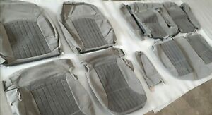 2002-2005 Chevrolet Monte Carlo LS OEM Factory Cloth Seat Cover Set Gray