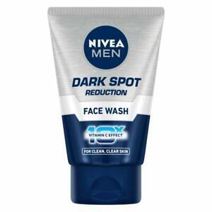 NIVEA Men Face Wash Dark Spot Reduction for Clean Skin Vitamin C Effect 100 g