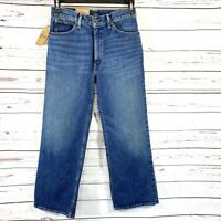 Polo Ralph Lauren Women's Jeans The Laight Cropped Flare Blue Size 29R NWT