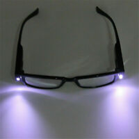 LED Light Multi Strength Reading Glasses Eyeglass Spectacle Diopter Magnifier JP